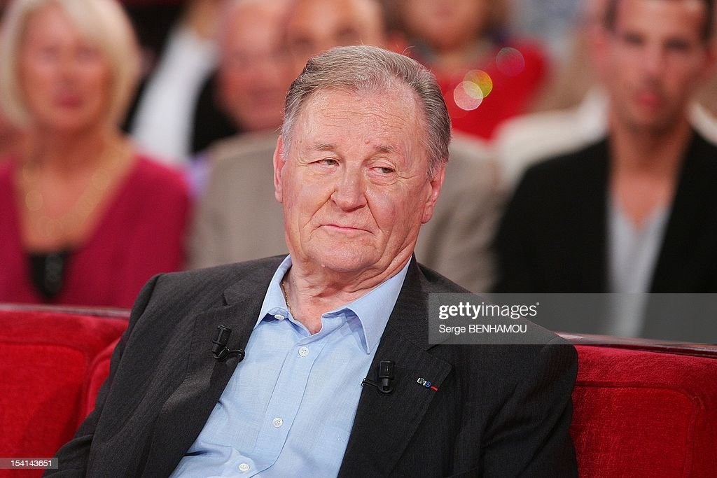 Albert Uderzo attends Vivement Dimanche Tv show on October 3, 2012 in Paris, France.