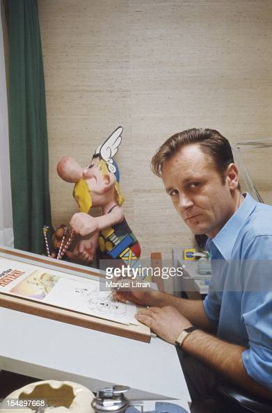 the designer was working on his board designs has its eleventh album entitled 'The Shield Arverne' the character of Asterix in the background With 13...