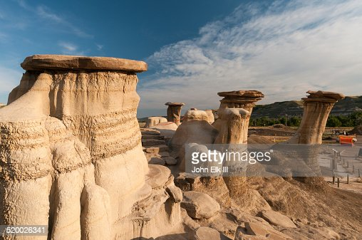 Alberta Badlands, hoodoo formations