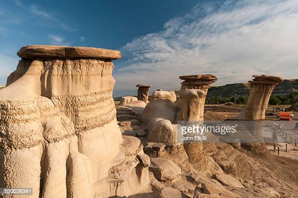 Alberta Badlands, hoodoo formations