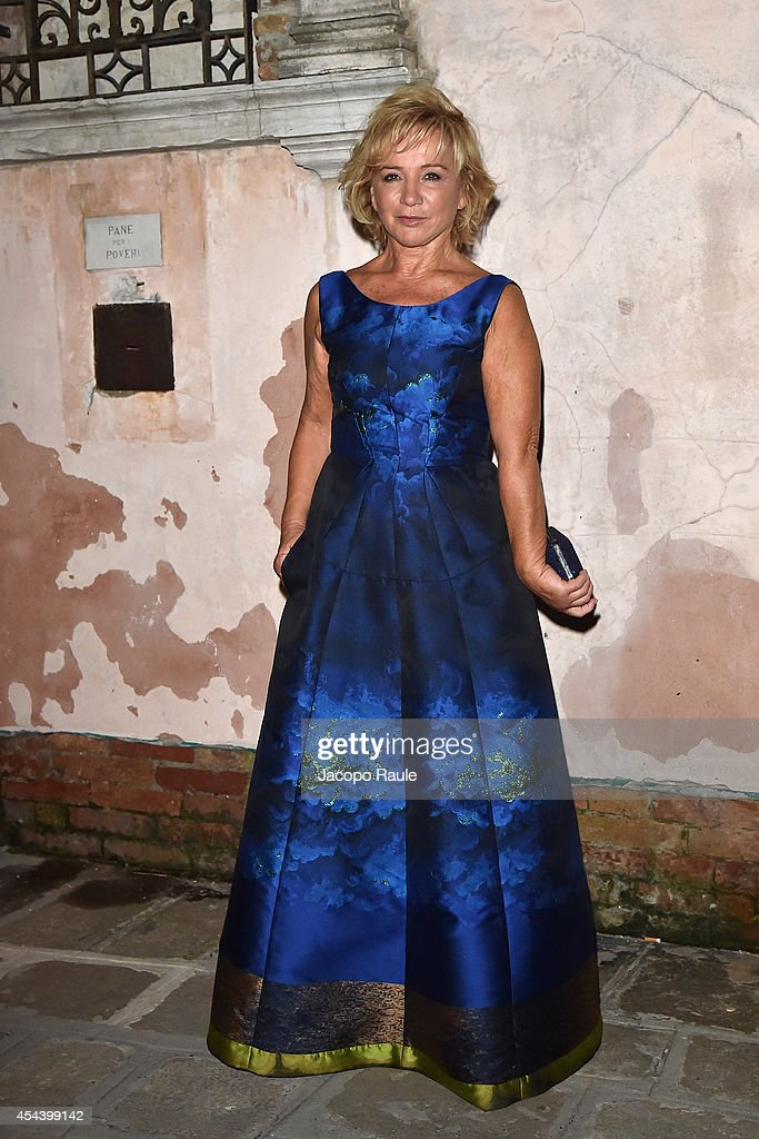 Alberta Ferretti attends 'The Humbling' premiere after party during the 71st Annual Venice Film Festival on August 30, 2014 in Venice, Italy.