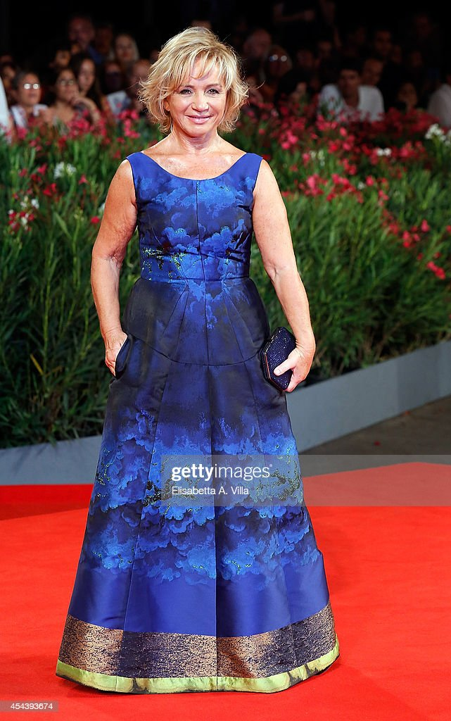 Alberta Ferretti attends 'The Humbling' premiere during the 71st Venice Film Festival on August 30, 2014 in Venice, Italy.
