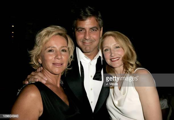 Alberta Ferretti George Clooney and Patricia Clarkson