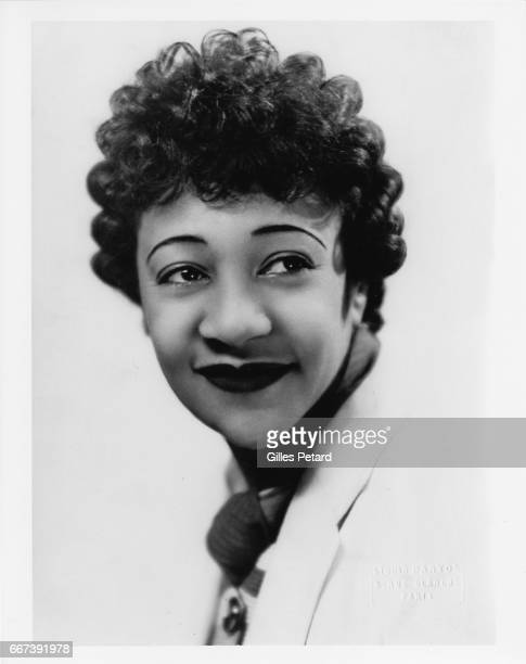 Alberta Hunter studio portrait Paris France 1935