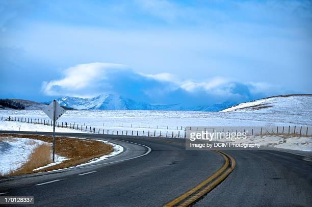 Alberta road, Longview