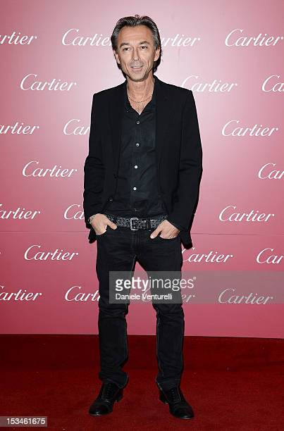 Albertino attends the Cartier Boutique reopening cocktail party on October 5 2012 in Milan Italy