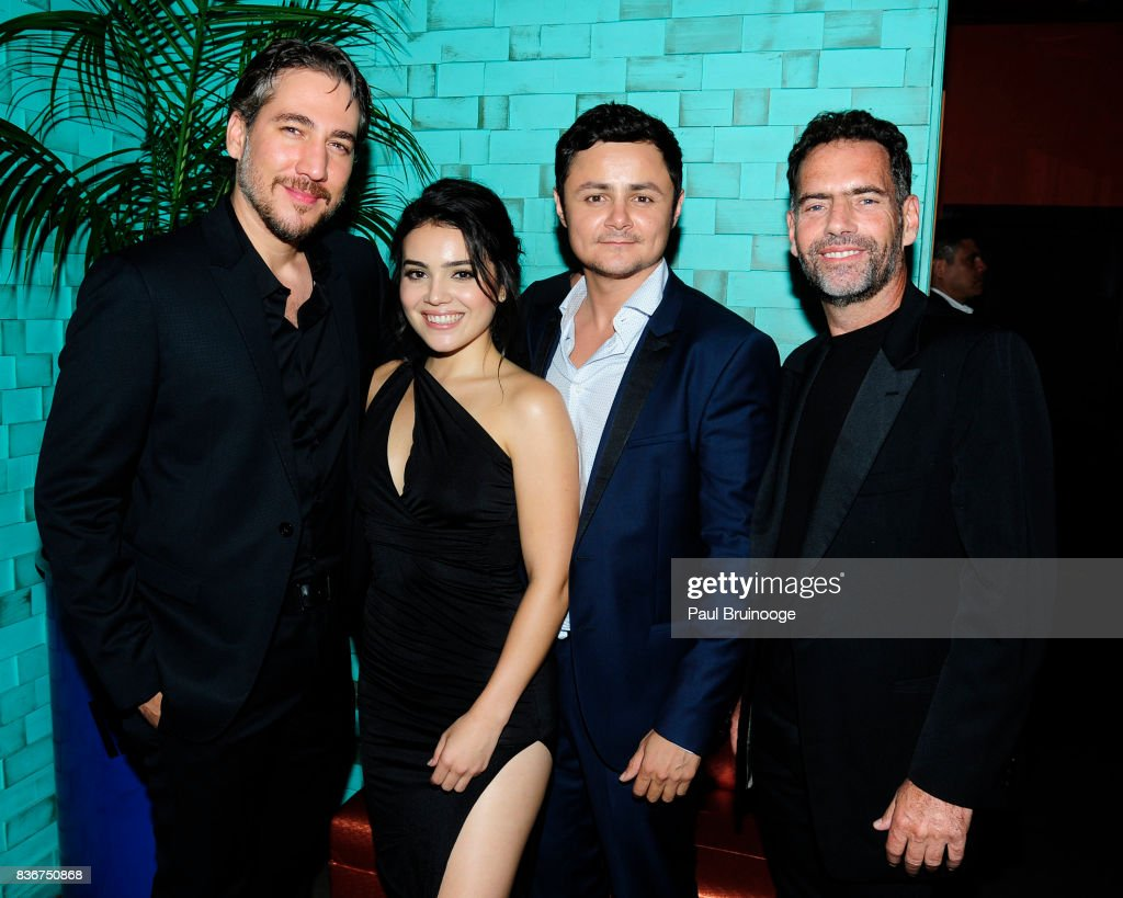 Alberto Ammann, Andrea Londo, Arturo Castro and Francisco Denis attend 'Narcos' Season 3 New York Screening - After Party at Stage 48 on August 21, 2017 in New York City.