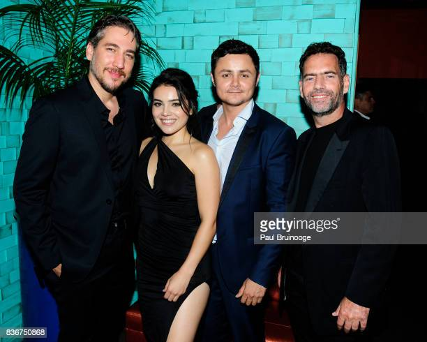 Alberto Ammann Andrea Londo Arturo Castro and Francisco Denis attend 'Narcos' Season 3 New York Screening After Party at Stage 48 on August 21 2017...