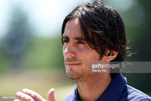 Alberto Aquilani of Italy during a training session at Coverciano on June 2 2014 in Florence Italy
