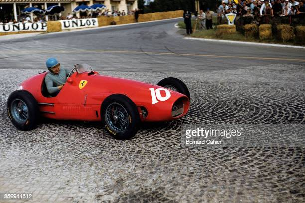 Alberto Ascari Ferrari 500 Grand Prix of France ReimsGueux 05 July 1953