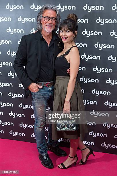 Alberto Cerdan and Sara Salamo attend the Dyson Supersonic Hairdryer presentation on September 8 2016 in Madrid Spain