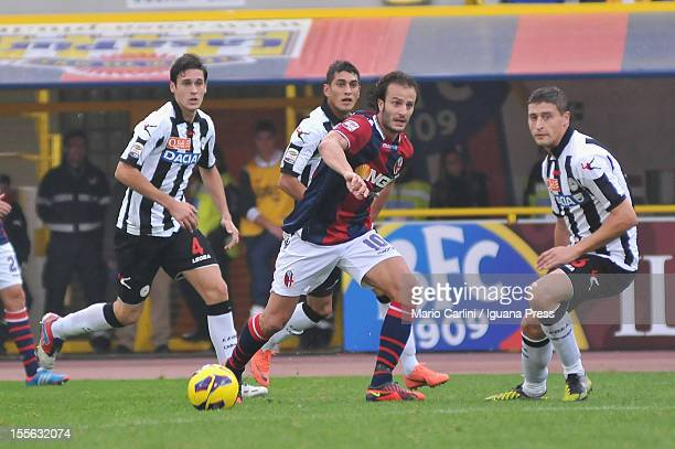 Alberto Gilardino of Bologna FC in action during the Serie A match between Bologna FC and Udinese Calcio at Stadio Renato Dall'Ara on November 4 2012...
