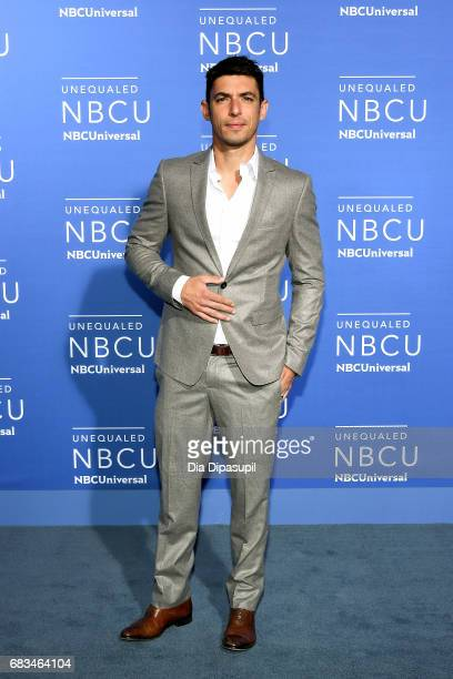 Alberto Guerra attends the 2017 NBCUniversal Upfront at Radio City Music Hall on May 15 2017 in New York City