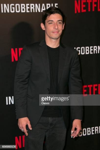 Alberto Guerra attends the launch of Netflix's series 'Ingobernable' photocall at St Regis Hotel on March 22 2017 in Mexico City Mexico