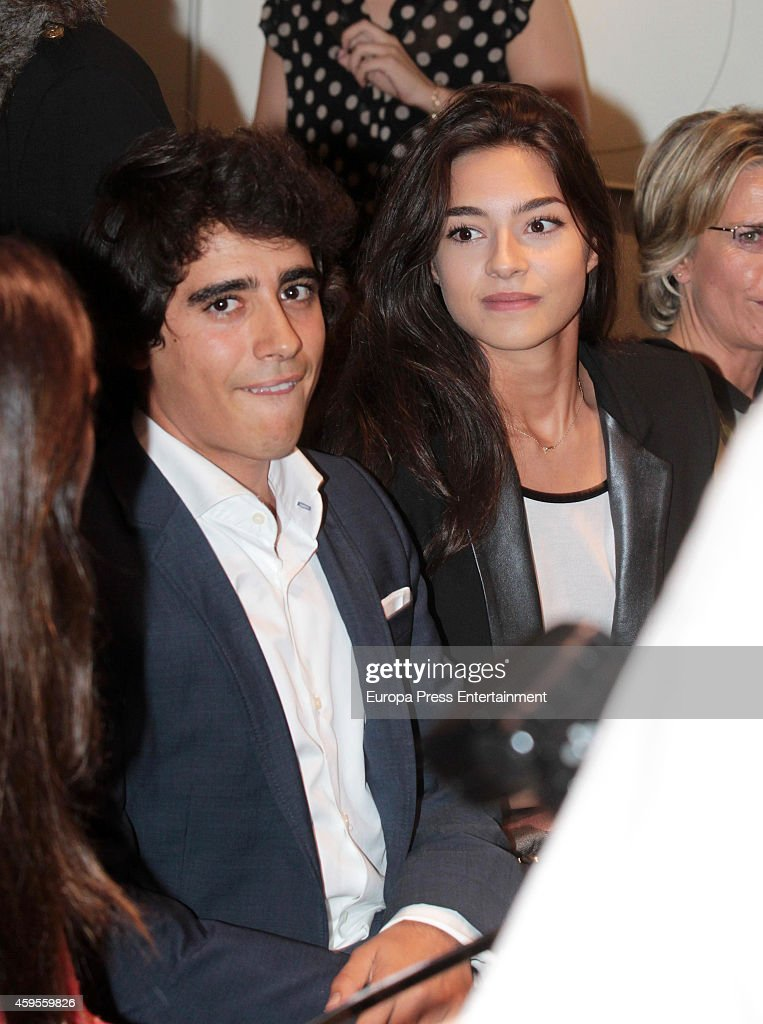 Alberto Herrera Montero and Rocio Herrera Montero attend the launch of their mother Marilo Montero's new book 'El Corazon de las Mujeres No Tiene Reglas' on November 24, 2014 in Madrid, Spain.