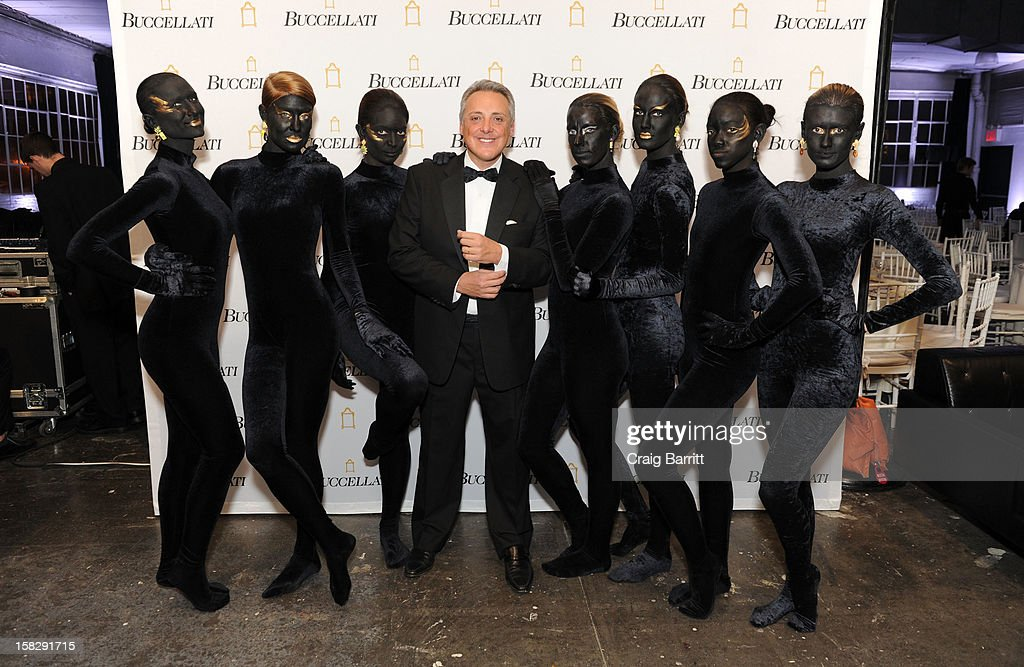Alberto Milani attends the TPC for the 2012 La Fondazione La Notte Gala Celebrating 60 years Of Excellence In the USA For Buccellati at Industria Studios on December 12, 2012 in New York City.