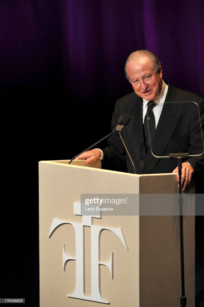 Alberto Morillas speaks onstage at the 2013 Fragrance Foundation Awards at Alice Tully Hall at Lincoln Center on June 12, 2013 in New York City.