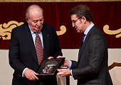 King Juan Carlos Receives The Credential As Ambassador...