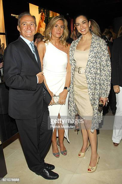Alberto Palatchi Susan Palatchi and Dayssi Olarte de Kanavos attend Pronovias Commemorates the Opening of the NY Flagship Store with New Yorkers For...