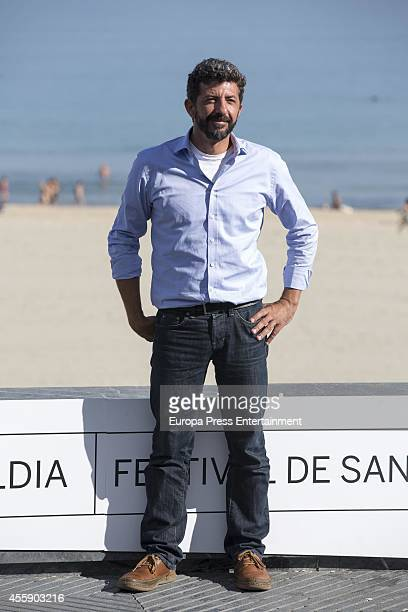 Alberto Rodriguez attends 'La Isla Minima' Photocall during 62nd San Sebastian Film Festival on September 20 2014 in San Sebastian Spain
