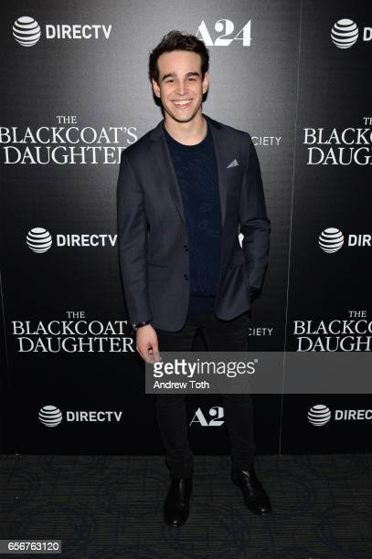 Alberto Rosende attends a screening of 'The Blackcoat's Daughter' hosted by A24 and DirecTV with The Cinema Society at Landmark Sunshine Cinema on...