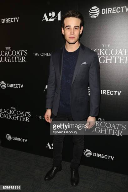 Alberto Rosende attends A24 and DirecTV with The Cinema Society Host a Screening of 'The Blackcoat's Daughter' on March 22 2017 in New York City