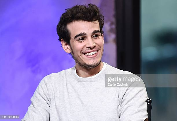 Alberto Rosende attends AOL Build to discuss the upcoming season of 'Shadowhunters' at AOL HQ on January 9 2017 in New York City