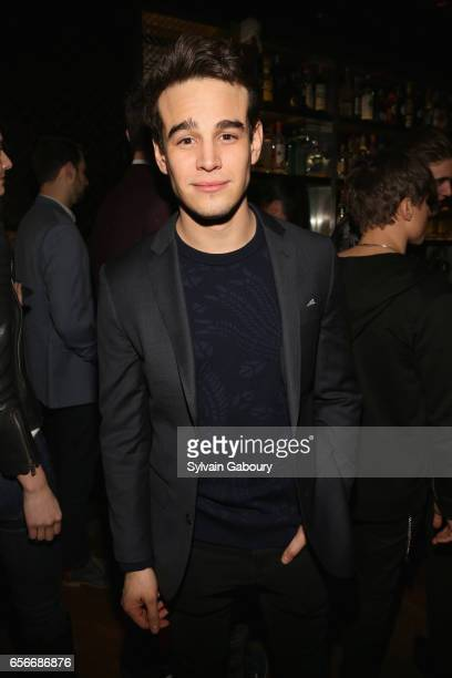 Alberto Rosende attends the after party for 'The Blackcoat's Daughter' hosted by The Cinema Society A24 and DirecTV on March 22 2017 in New York City