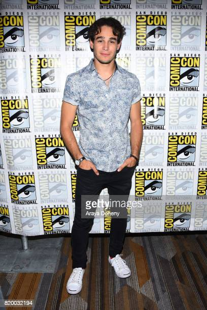 Alberto Rosende attends the Shadowhunters press conference at ComicCon International 2017 on July 20 2017 in San Diego California