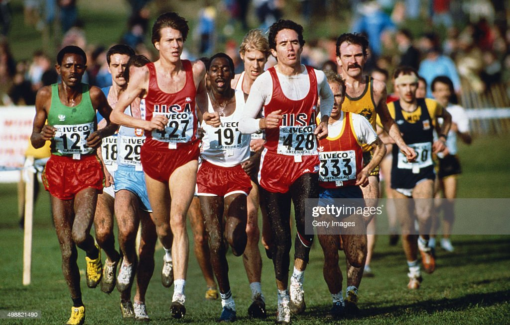 <a gi-track='captionPersonalityLinkClicked' href=/galleries/search?phrase=Alberto+Salazar&family=editorial&specificpeople=3459884 ng-click='$event.stopPropagation()'>Alberto Salazar</a> (428) leads a group of runners during the IAAF World Cross Country Championships at Riverside park on March 20, in Gateshead, England.