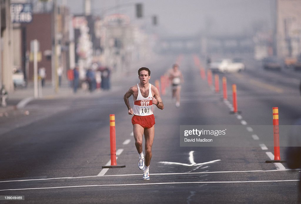 <a gi-track='captionPersonalityLinkClicked' href=/galleries/search?phrase=Alberto+Salazar&family=editorial&specificpeople=3459884 ng-click='$event.stopPropagation()'>Alberto Salazar</a> #101 runs the Golden Empire Marathon held in November 1983 in Bakersfield, California.