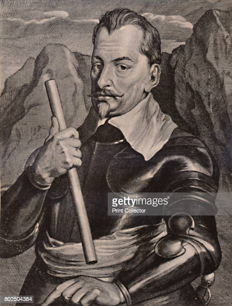 Albrecht von Wallenstein Bohemian general 17th century From A Collection of Engraved Portraits Exhibited by the Late James Anderson Rose at the...