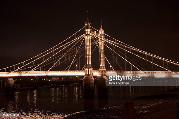 Albrt Bridge London England on January 15 2014