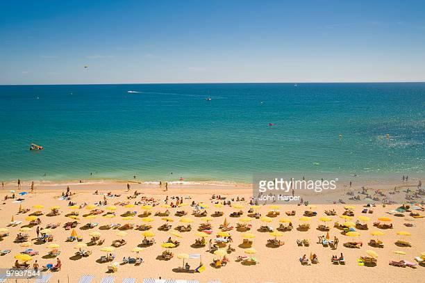 Albufeira Beach, Faro, The Algarve, Portugal