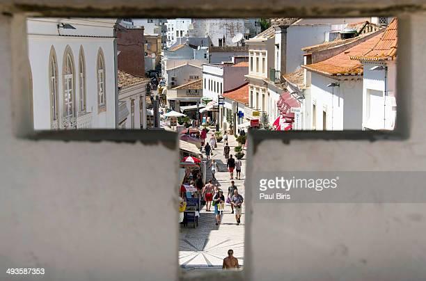 Albufeira Old Town Main Street