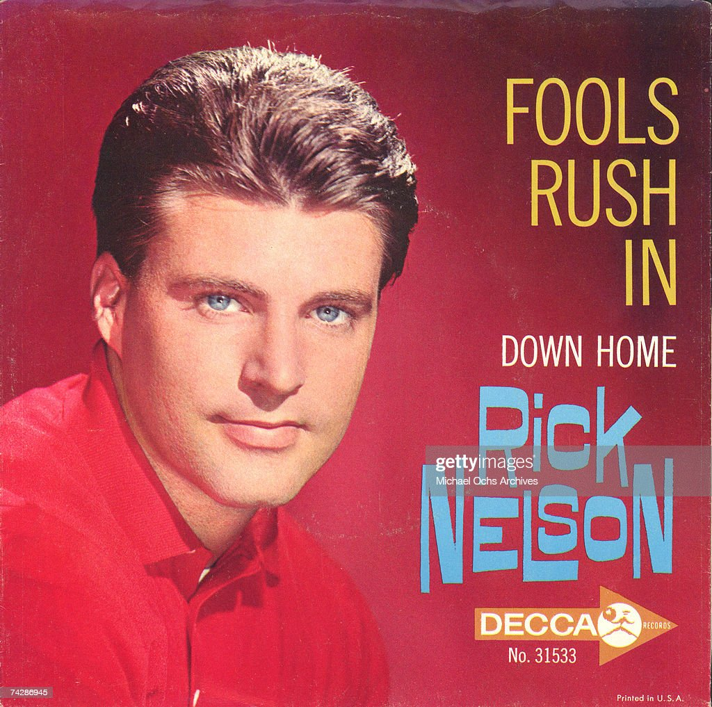 Rick Nelson Fools Rush In Down Home