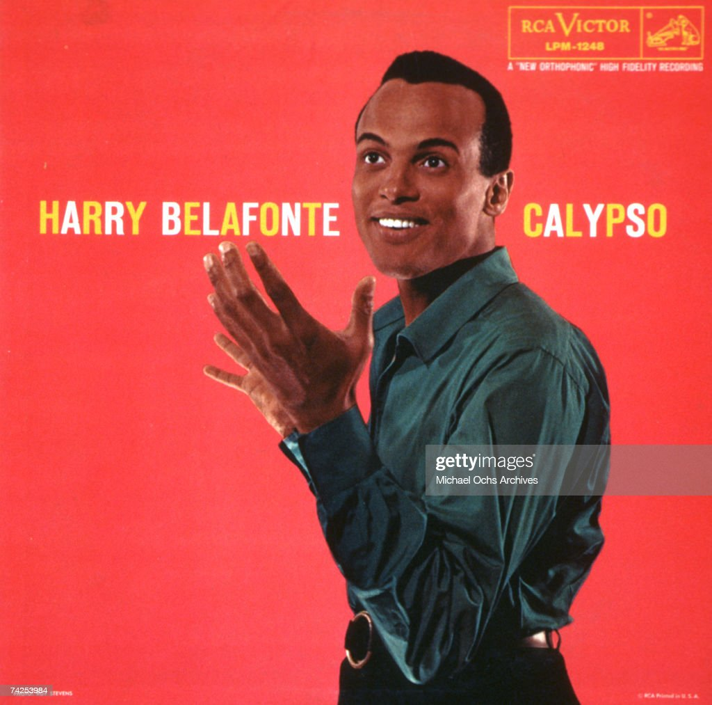 Album cover for singer Harry Belafonte's album 'Calypso' which was released in 1956.