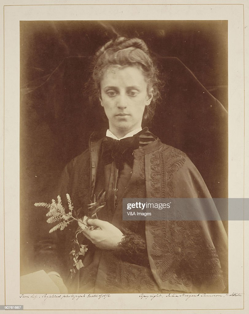 Albumen print by Julia Margaret Cameron Cameron's photographic portraits are considered among the finest in the early history of photography She set...