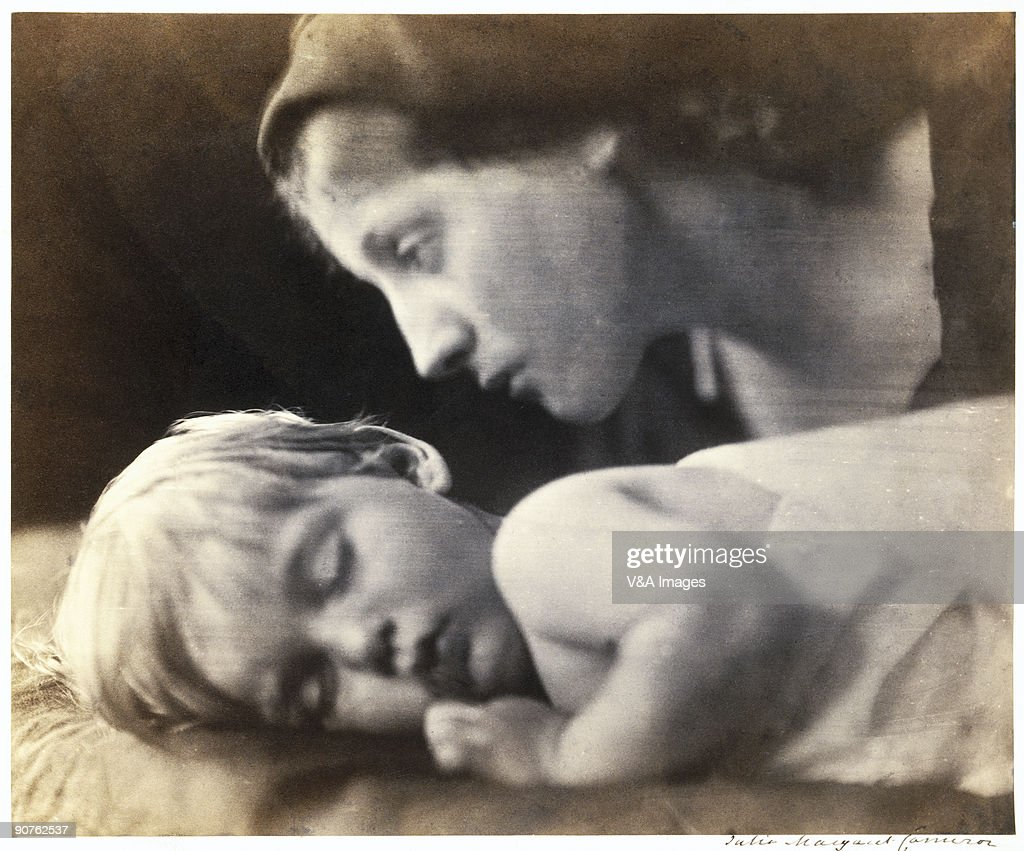 Albumen print by Julia Margaret Cameron of Archie aged 2 years and 3 months Archie was the son of Cameron's eldest son Eugene Hay Cameron and his...