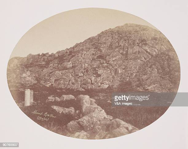 Albumen Print of �Delos One of the Grecian Isles with Cyclopean Cave� Dimensions 156 x 206cm