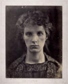 Albumensilver photograph by Julia Margaret Cameron Cameron's photographic portraits are considered among the finest in the early history of...