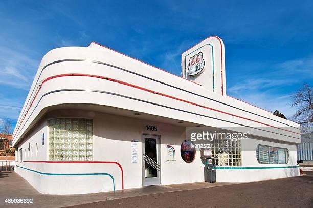 Albuquerque  Central Avenue - Route 66 Diner Historic Building
