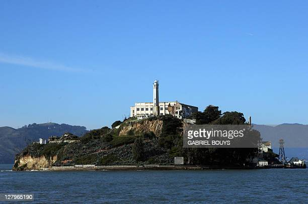 Alcatraz Island is pictured 22 December 2006 on San Francisco Bay in California Sometimes referred to as 'The Rock' the small island of Alcatraz...