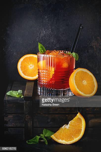 Alcohol cocktail Negroni