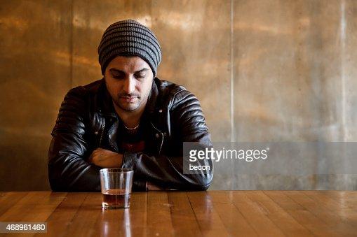 Alcoholic at the Bar