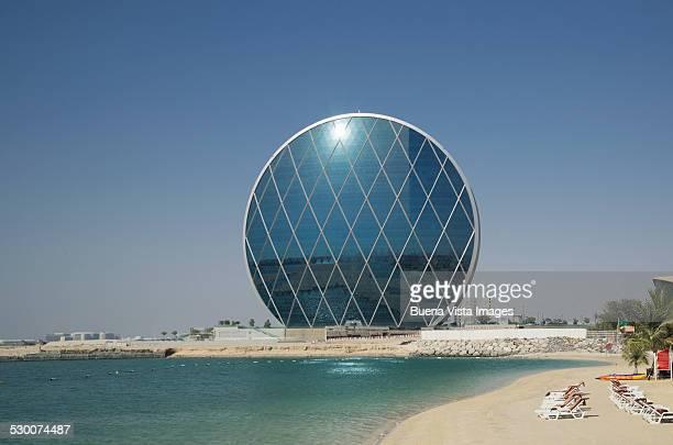 Aldar  circular building in Abu Dhabi