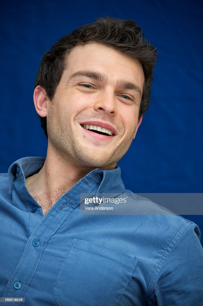Alden Ehrenreich attends the 'Beautiful Creatures' Press Conference at the SLS Hotel on February 1, 2013 in Beverly Hills, California.
