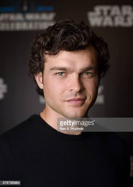 Alden Ehrenreich who will play Han Solo attends the Star Wars Celebration 2016 at ExCel on July 17 2016 in London England