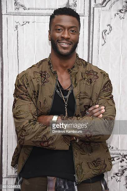 Aldis Hodge attends the Build Series 'Hidden Figures'' at AOL HQ on January 5 2017 in New York City