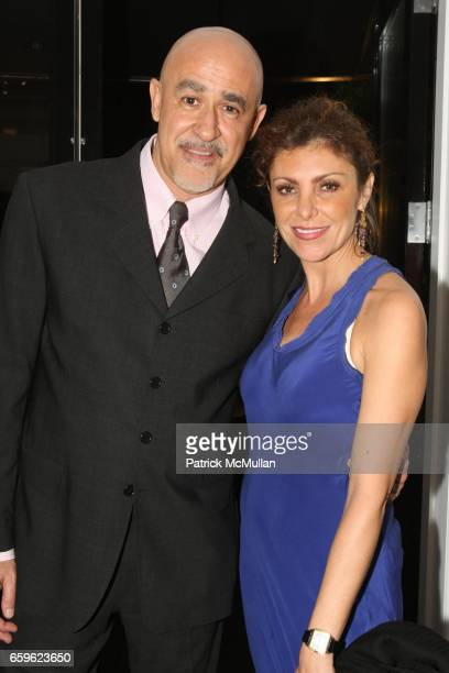 Aldo Andreoli and Ana Brignone attend ASSOULINE Vintage Cocktails Launch at David Chu Bespoke at The Bespoke Lounge on October 22 2009 in New York...